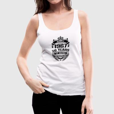 may 1967 50 years - Women's Premium Tank Top