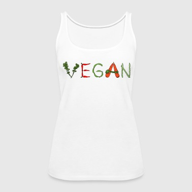 Vegan Veggie Lover - Women's Premium Tank Top