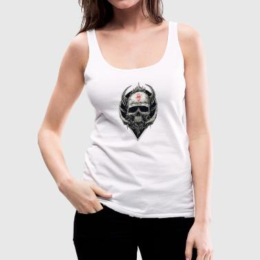Devil Skull - Women's Premium Tank Top