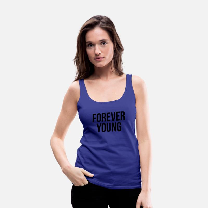 ae465d4af9a9 Forever Young SWAG Hipster Youth Dancer Hip Hop Women s Premium Tank ...