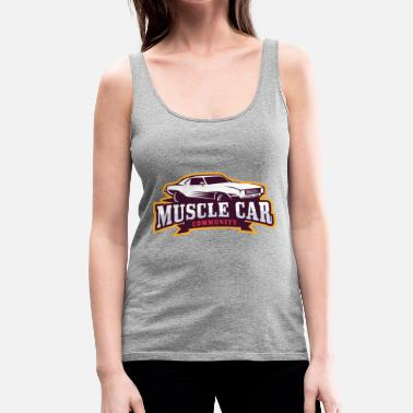 Muscle Car MUSCLE CAR - Women's Premium Tank Top