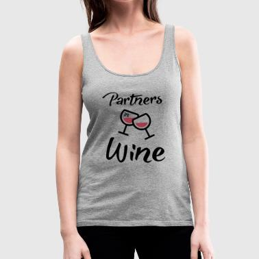 Partner Partners in Wine - Women's Premium Tank Top