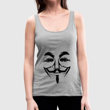 guy fawkes - Women's Premium Tank Top