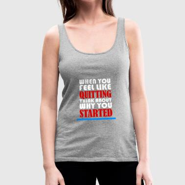 MOTIVATION MOTIVATION MOTIVATION - Women's Premium Tank Top