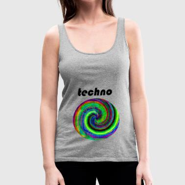 techno - Women's Premium Tank Top