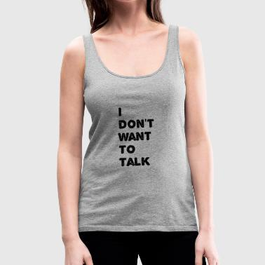 text - Women's Premium Tank Top