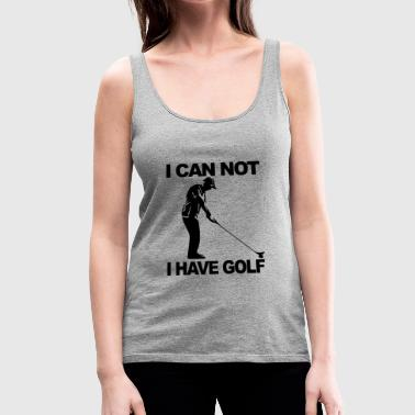 Golf Design - Women's Premium Tank Top
