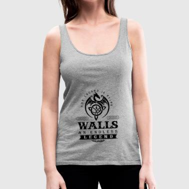 WALLS - Women's Premium Tank Top