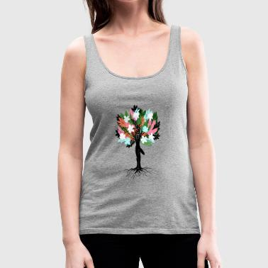 Tree Pose - Women's Premium Tank Top
