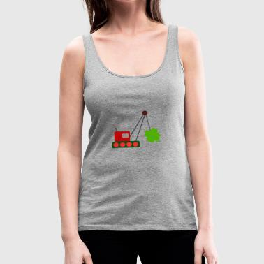 shamrock - Women's Premium Tank Top