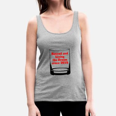 Retirement Retired 2015 - Women's Premium Tank Top