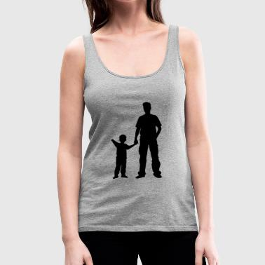 father and son - Women's Premium Tank Top