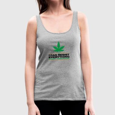 I Can Not Resist The Temptation! - Women's Premium Tank Top