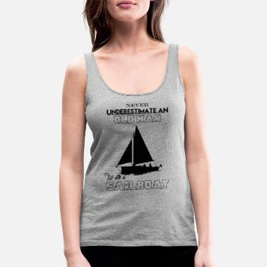 Sailboat With A Sailboat - Women's Premium Tank Top