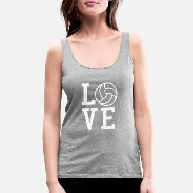 Vball Volleyball LOVE Coach Gift - Women's Premium Tank Top