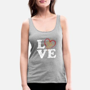 Disgusting Spider Love - Women's Premium Tank Top