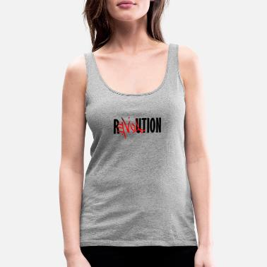 Revolution Love Revolution - Women's Premium Tank Top