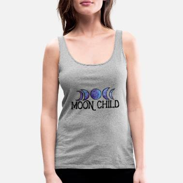 Moon Child - Women's Premium Tank Top