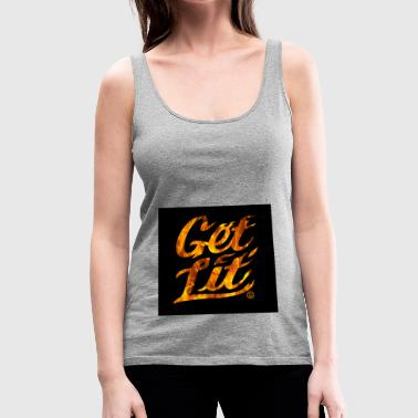 get lit offical - Women's Premium Tank Top
