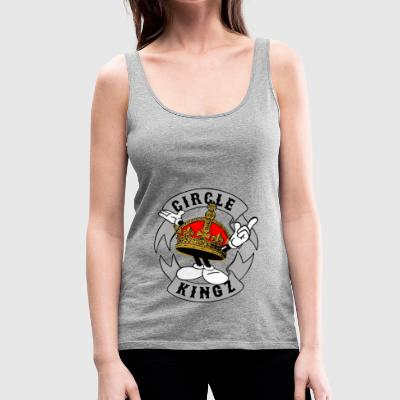 circle kingz - Women's Premium Tank Top