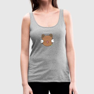 Squirrel in thought - Women's Premium Tank Top