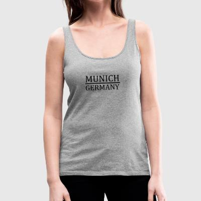 Munich - Germany - Women's Premium Tank Top