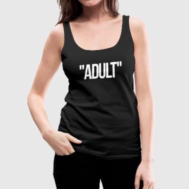 Adult - Women's Premium Tank Top