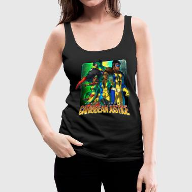 Guyana Caribbean Justice Legends - Women's Premium Tank Top