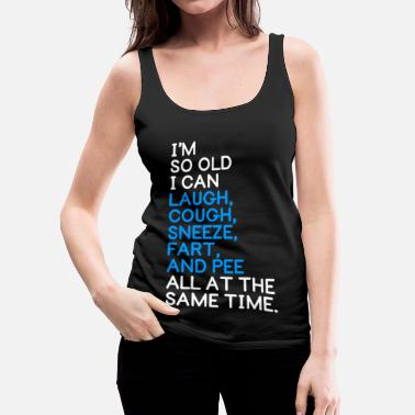 Laugh AT THE SAME TIME - Women's Premium Tank Top