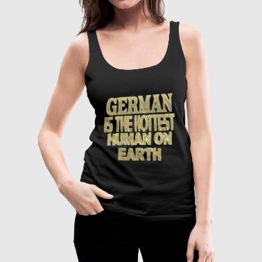 German - Women's Premium Tank Top