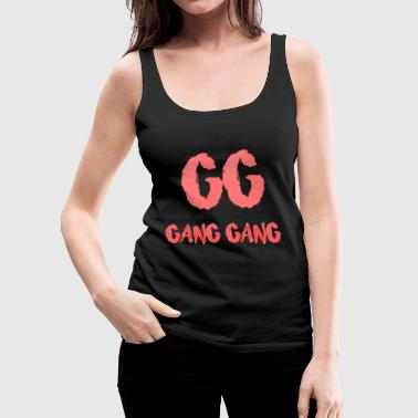 Gang Gang Clothing - Gang Gang Logo - Women's Premium Tank Top