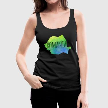 romania - Women's Premium Tank Top