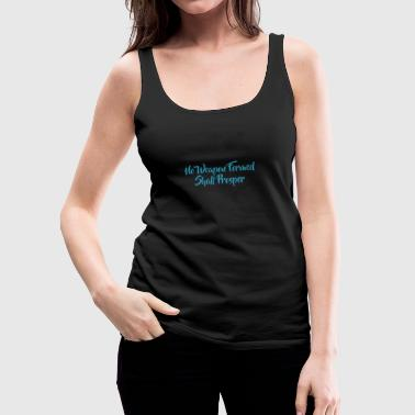 No Weapon Formed - Women's Premium Tank Top