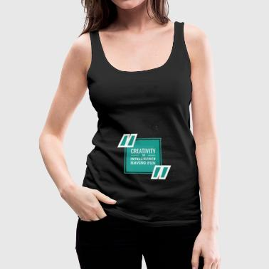 creativity - Women's Premium Tank Top