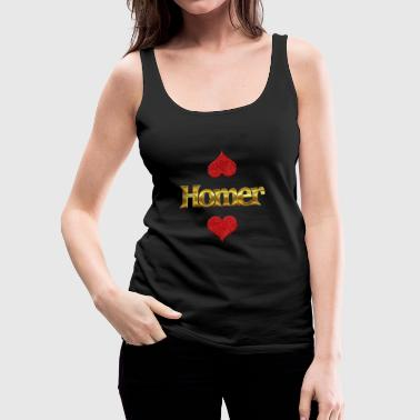Homer Homer - Women's Premium Tank Top