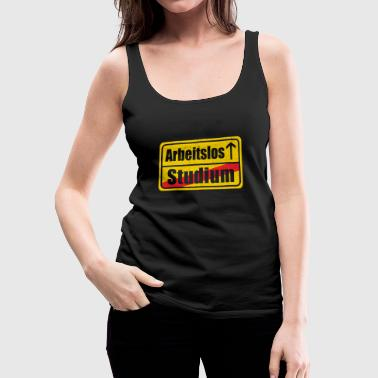 UNEMPLOYED - Women's Premium Tank Top