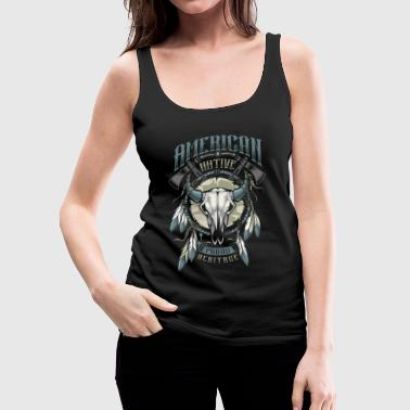 American Indian - Women's Premium Tank Top