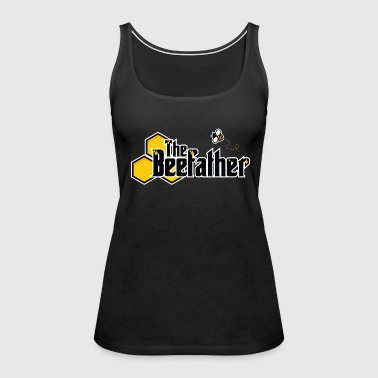 The Beefather - Bee Honey Beekeeper Honeycombs - Women's Premium Tank Top