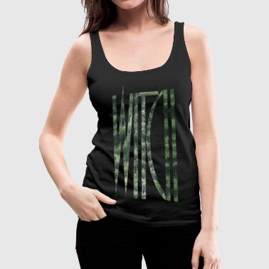 Witch Wicca Wizard - Women's Premium Tank Top