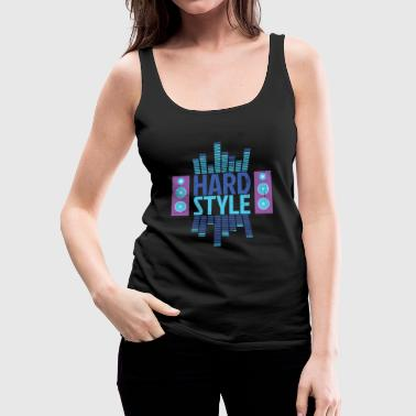 Hardstyle Equalizer - Women's Premium Tank Top
