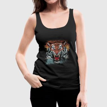 Tiger - Women's Premium Tank Top