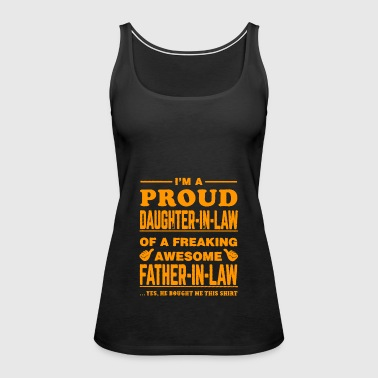 father - Women's Premium Tank Top
