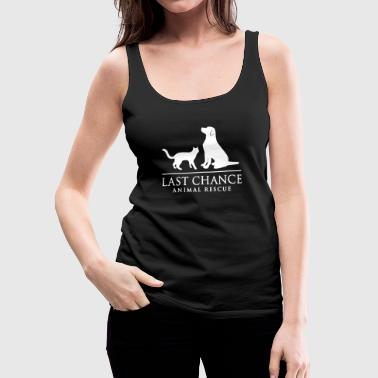 Last change animal rescue - Women's Premium Tank Top