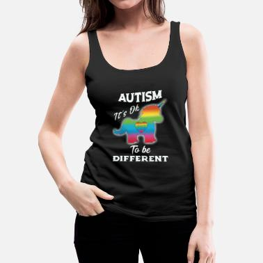 Autism Autism Awareness Unicorn Autism - Women's Premium Tank Top