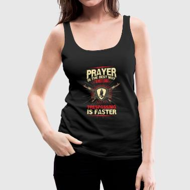 prayer - Women's Premium Tank Top