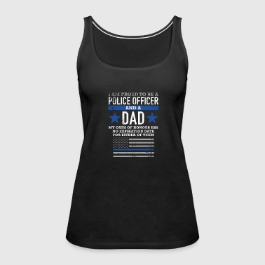Police Police Proud to be a police officer a - Women's Premium Tank Top