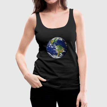 Planet Earth - Women's Premium Tank Top