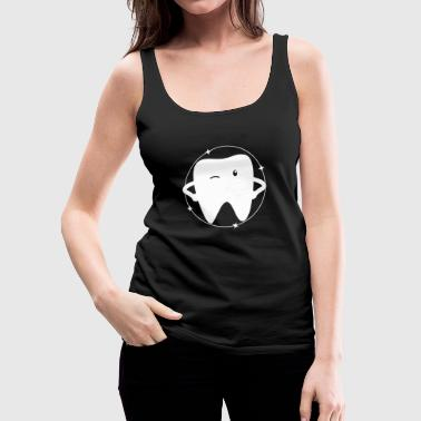 Tooth - Cute Tooth - Women's Premium Tank Top
