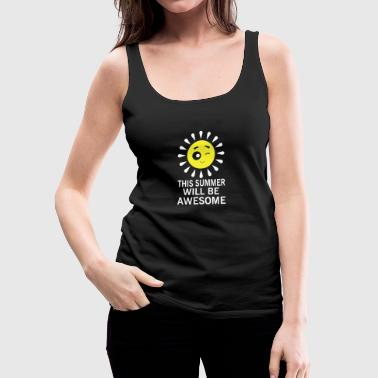Gift travel summer vacation summer vacation summer - Women's Premium Tank Top