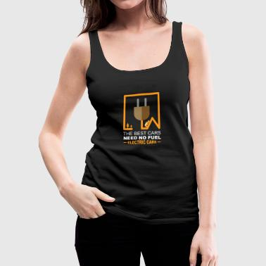 electric cars - Women's Premium Tank Top